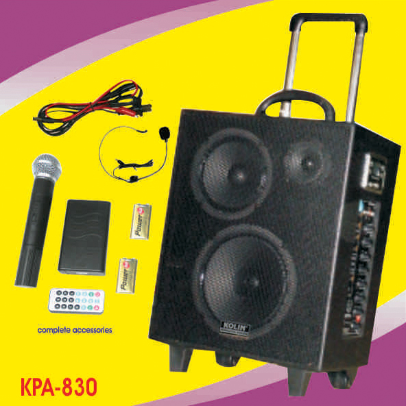 KPA 830 Portable Wireless PA